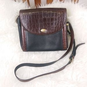 Bally Vintage Leather Bag Made in Italy